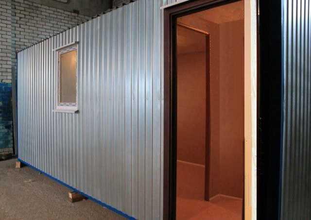 Продам Блок-контейнер БК-Т 6х2,4 с тамбуром