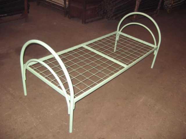Продам: Кровать металлическая белая