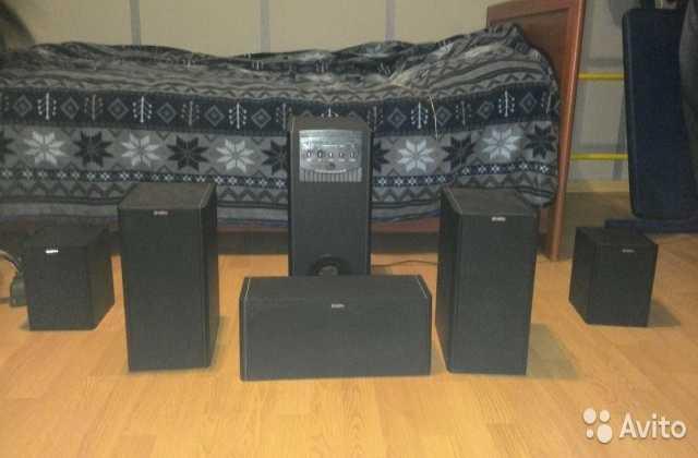 Продам: Музыкальный центр 5.1-Sven ihoo MT 5.1P