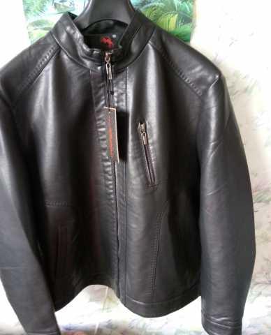 Продам Кожаная куртка Италия новая