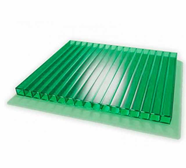 Продам Сотовый поликарбонат зеленый