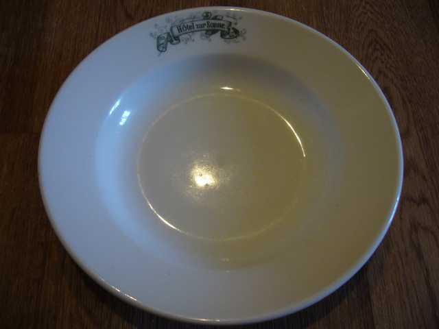 Продам тарелка д=23 фарфор Hobernberg 1914 г в