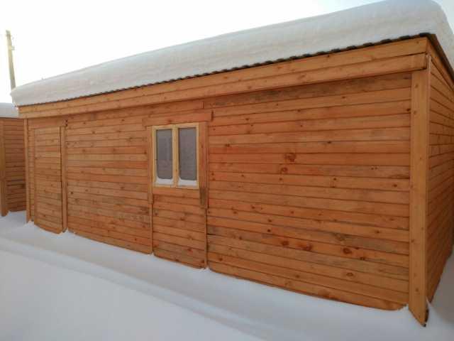 Продам Супер-большая деревянная бытовка арт.99