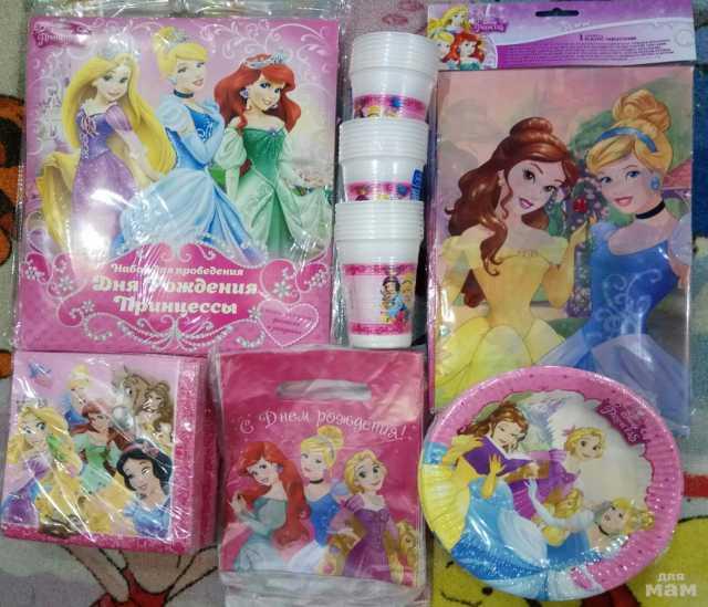 Продам Праздничная посуда Принцессы Мечты