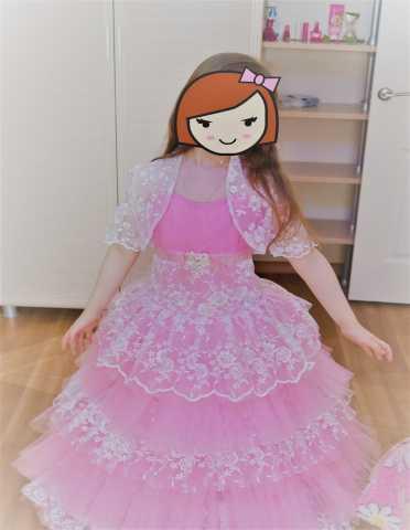 Продам Платье и туфли на выпускной в  садик