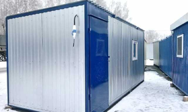 Продам Бытовки зимние на раме от 8156 руб/кв.м