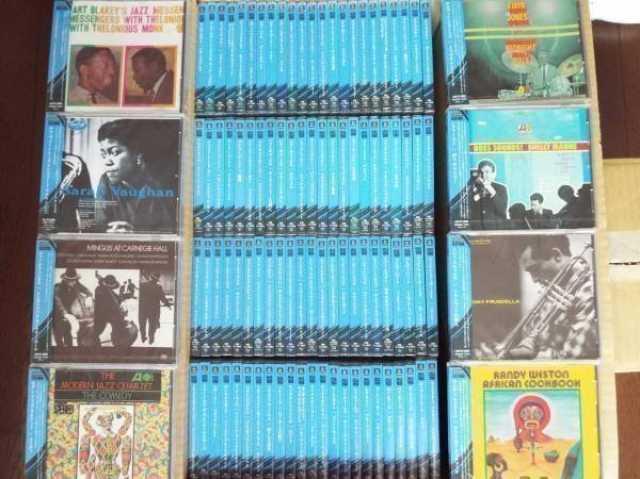 Продам CD Jazz из Японии, 130 дисков
