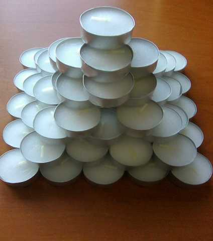 Продам Свечи в фольге