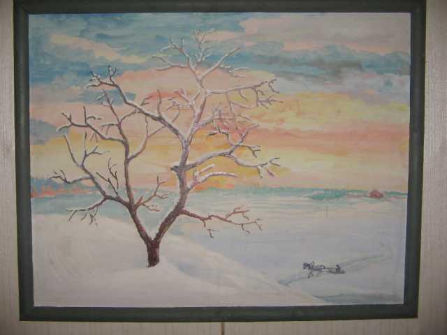 """Продам Картина """" Зима """""""