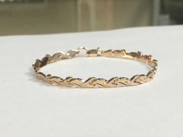 Продам Новый золотой браслет