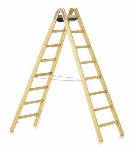 Продам Деревянные лестницы и стремянки.