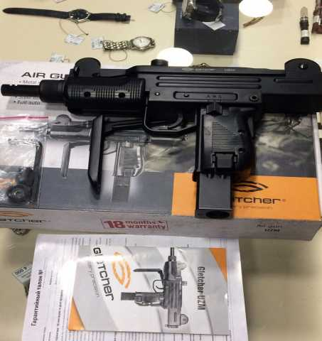 Продам Пневматический Gletcher UZM 4,5 мм