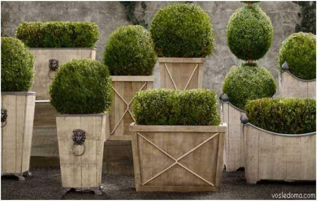 Продам Кашпо деревянные для цветов и деревьев