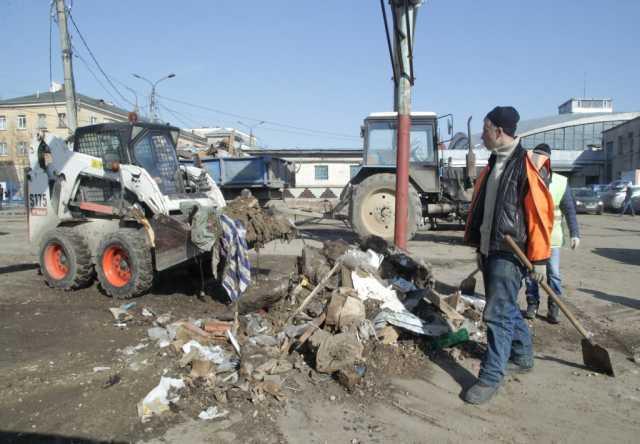 Предложение: Уборка территории, разнорабочие.