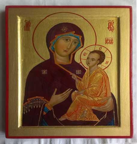 Продам Икона Божией Матери Тихвинская