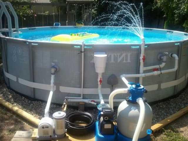 Продам Фильтр для очистки воды бассейна