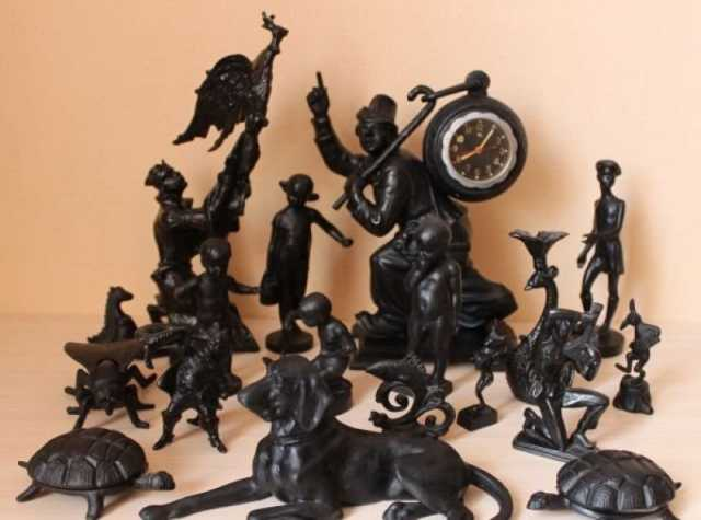 Куплю Скульптуры из чугуна, металла Касли Куса