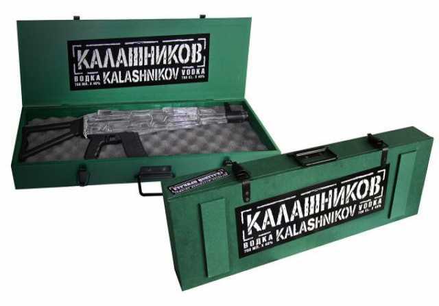 Продам Водка Автомат АК-47 в деревянной упаквке