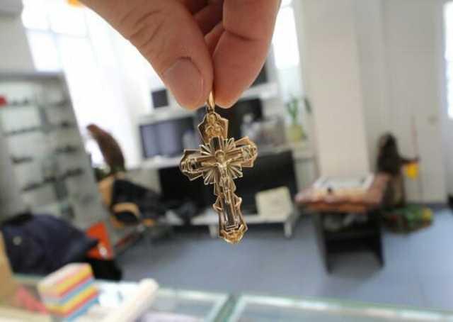 Продам Крест золото 585 12.53 гр