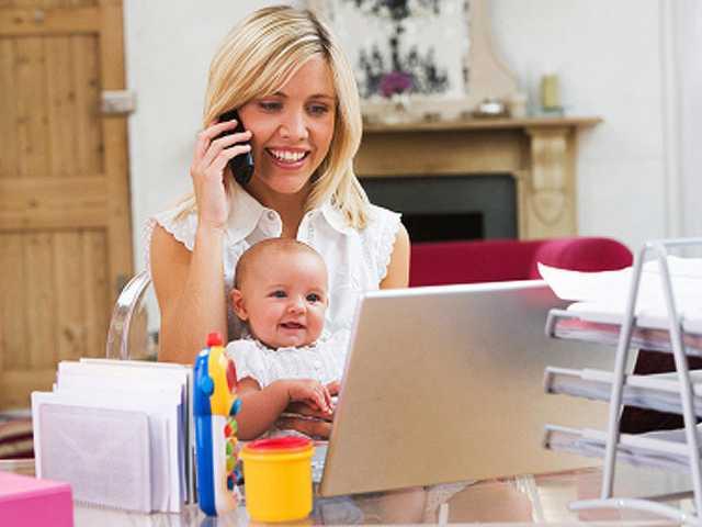 Вакансия: Удаленная работа для мам в декрете
