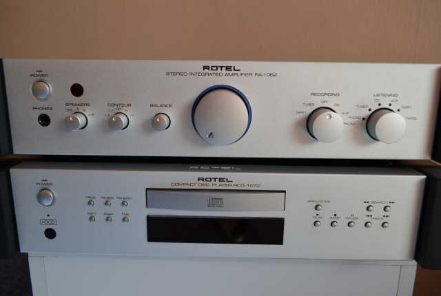 Продам Усилитель Rotel RA 1062, и проигRCD 1072