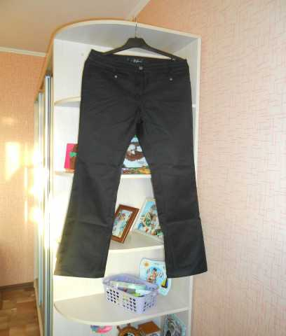 Продам Атласные черные брюки