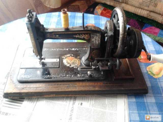 Продам Юбилейная швейная машинка Naumann