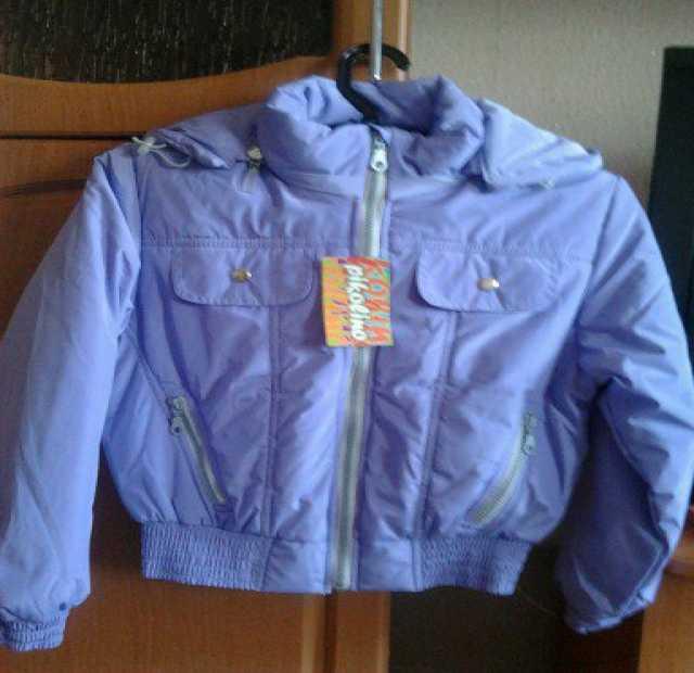 Продам Новая куртка на девочку р.146.