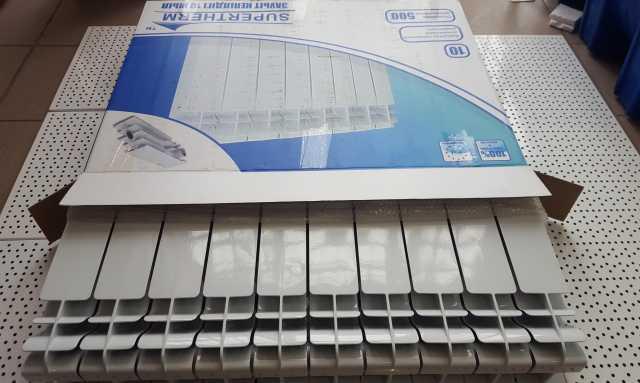 Продам Алюминиевые Радиаторы SuperTherm 500/100