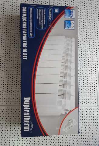 Продам Алюминиевые Радиаторы DuplexTherm 200/13