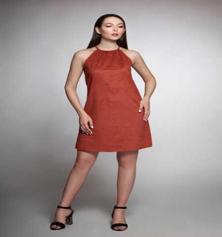 Продам Платье-американка из эко замши