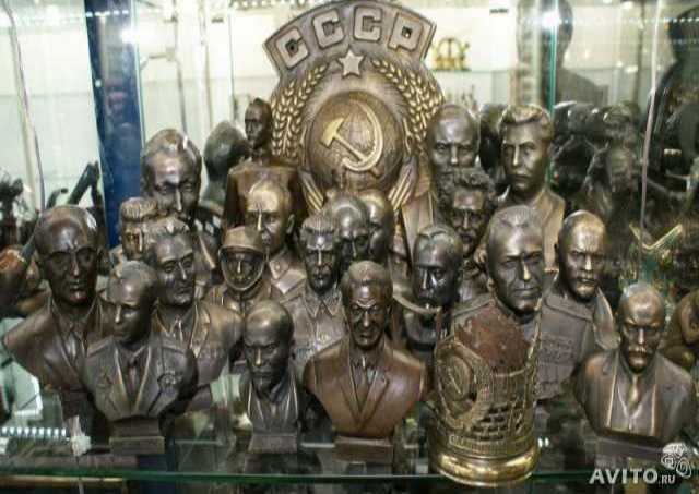 Куплю Бюсты Ленина, Сталина и др. скульптуры