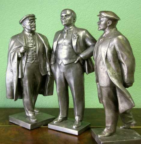 Куплю Скульптуры статуэтки Ленина любые