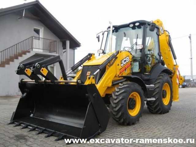 Предложение: Услуги трактора экскаватора-погрузчика