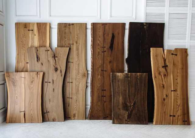 Продам Слэбы и спилы из реликтовой древесины