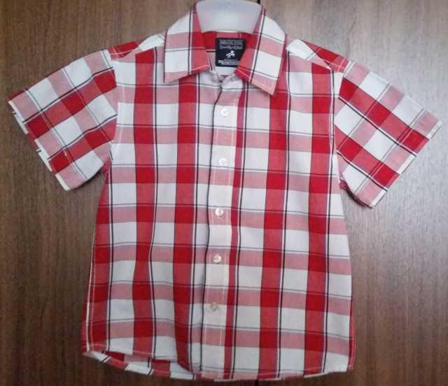 Продам Рубашка детская с коротким рукавом