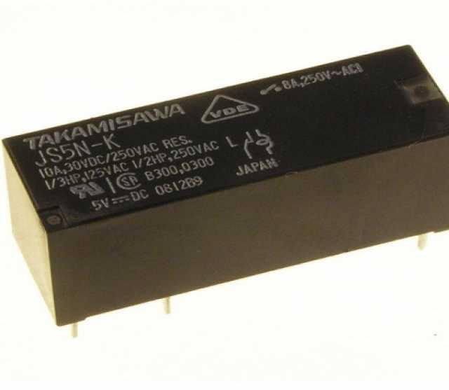Продам: Реле электромагнитное JS-5N-K Япония