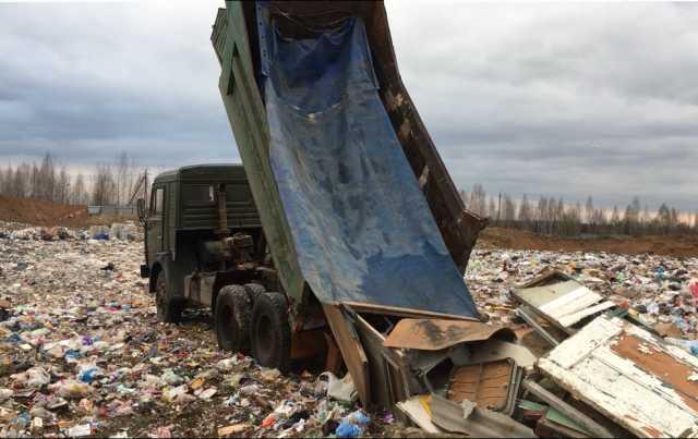 Предложение: Вывезем мусор КАМАЗом - самосвалом