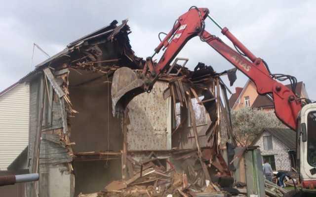 Предложение: Демонтаж снос домов, сооружений, стен