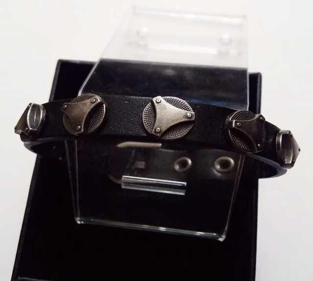 Продам Кожаный мужской браслет Element Steel