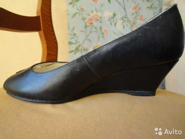 Продам Туфли женские, размер 35-36,натуральная
