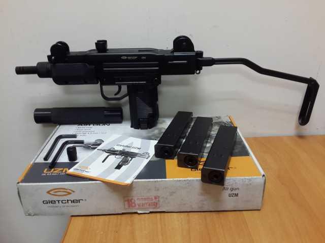 Продам Пневматический пистолет Gletcher UZM +