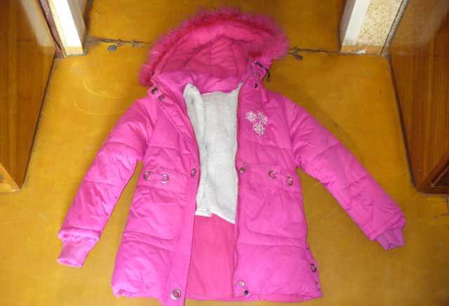 Продам Продам зимнюю куртку на девочку 5-7 лет