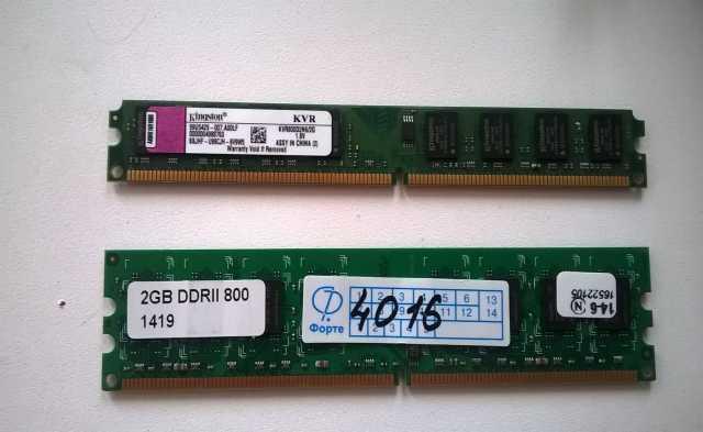 Продам Оперативная память 2GB DDR2 800