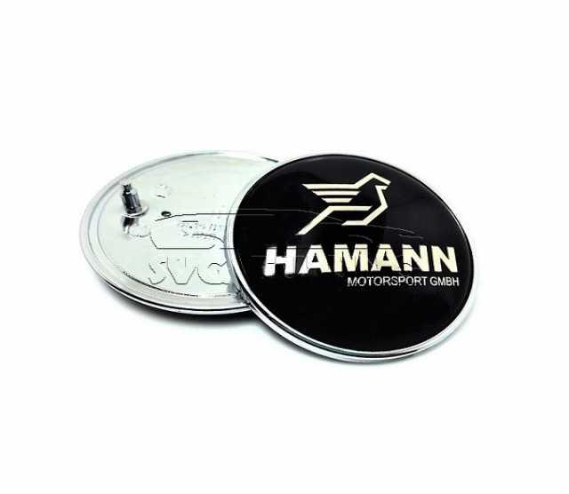 Продам Эмблемы Hamann для BMW на капот и багажн