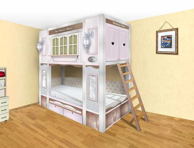Продам Детская кровать домик (кровать чердак)