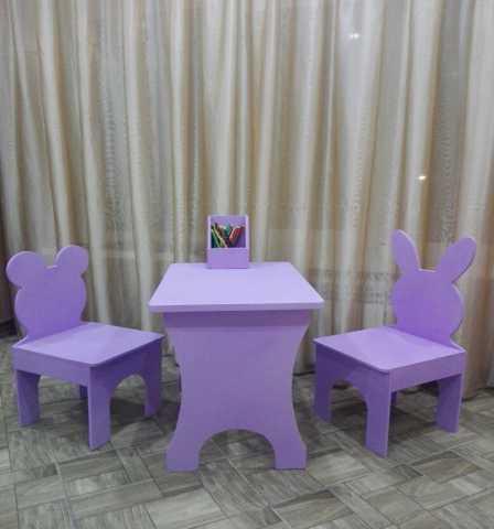 Продам: Детский стол и стул
