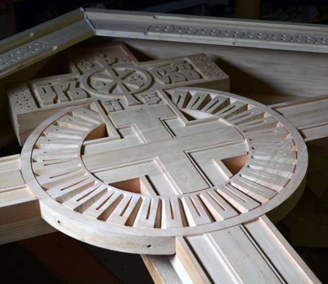 Предложение: Деревянные намогильные кресты.