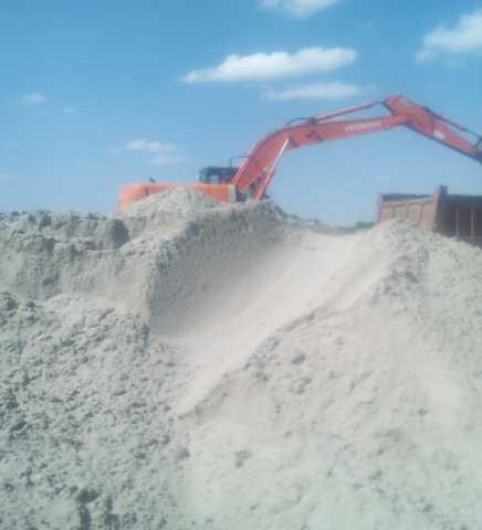 Продам Мелкозернистый песок (рядовой)