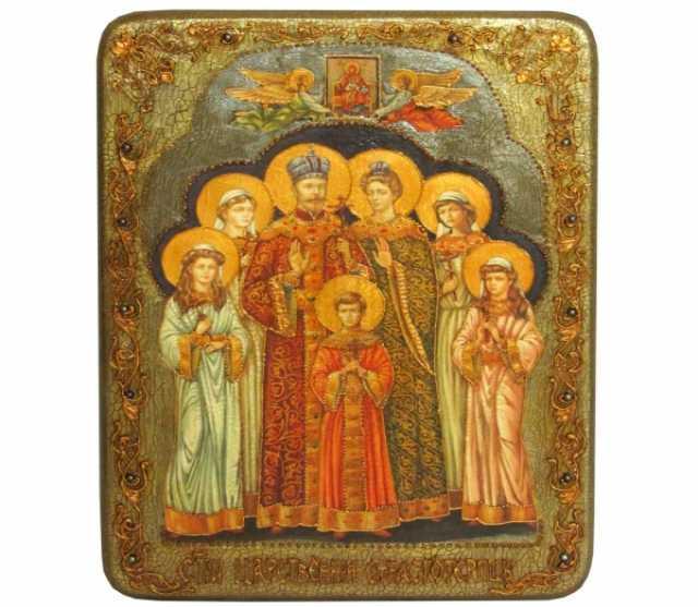 Продам Святые царственные страстотерпцы, икона